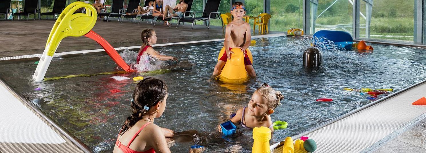Vodný svet s detským bazénom v rezorte Gothal