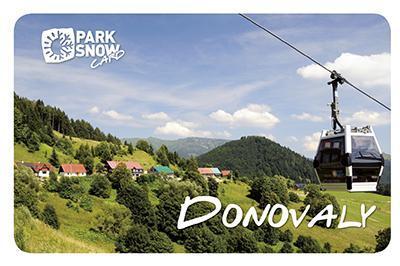 Park Snow card Donovaly leto