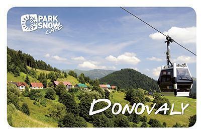 Gothal pobyt v Nízkych Tatrách - chalupy typu F - Park Snow Card v lete