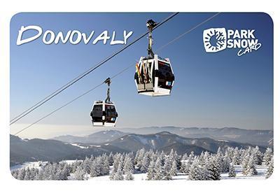 Gothal pobyt v Nízkych Tatrách - chalupy - Park Snow Card v zime
